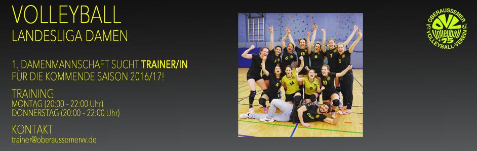 OVV | Trainersuche Frauen 1