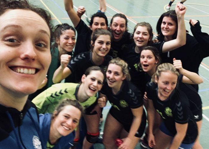Frauen 1 | OVV 1 siegt in knappem Spiel | 24.02.2018
